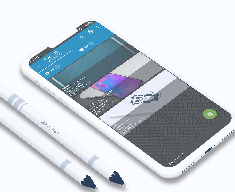 【原创汉化】HiShoot2i汉化,一款超级精美的带壳截图App-爱小助