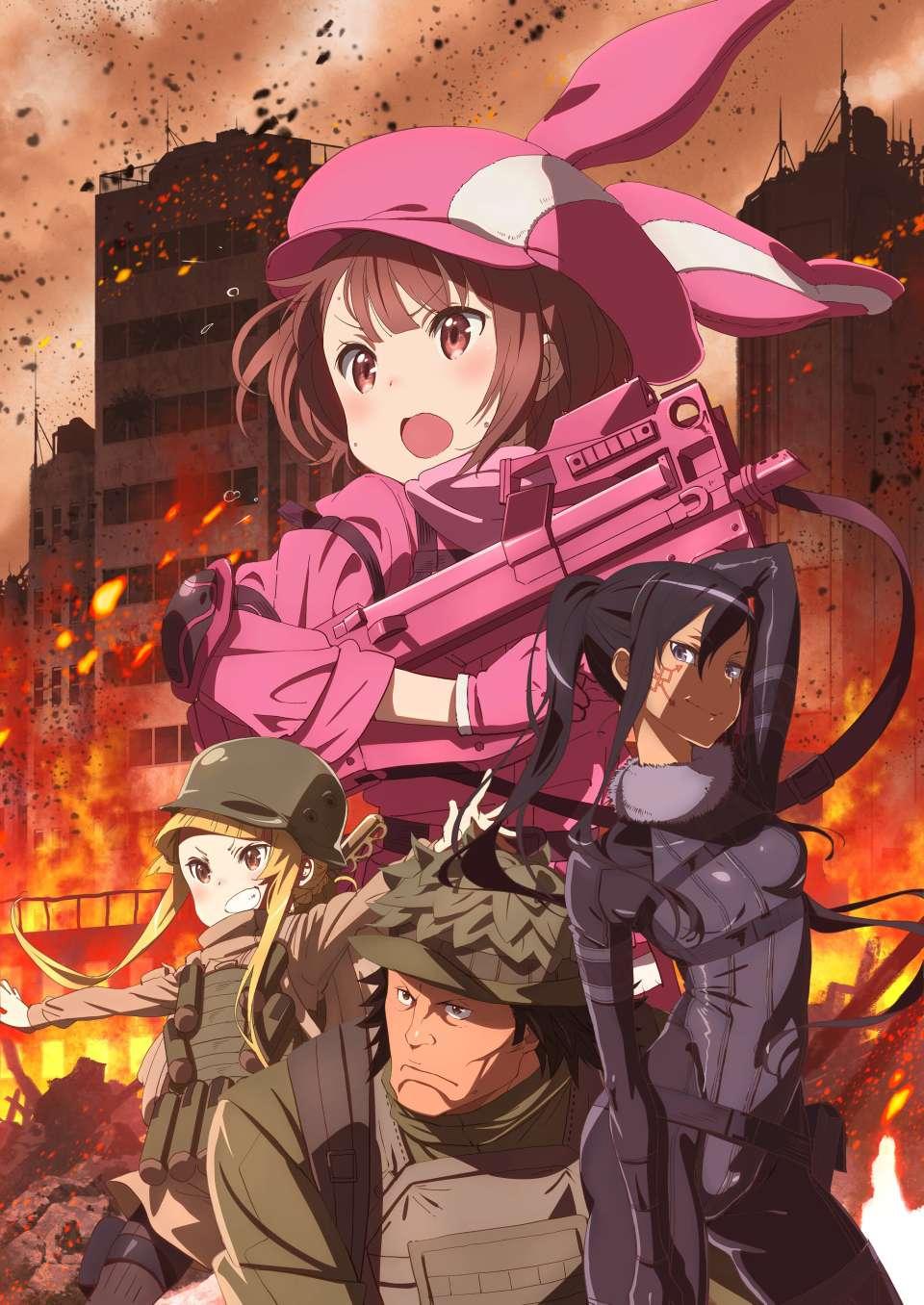 【资讯】《刀剑神域GGO》外传动画新宣传图发布 少女卷入枪战