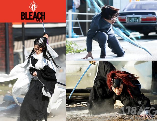 【资讯】漫改电影「BLEACH」追加演员发表