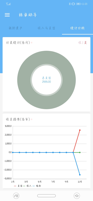 【分享】账单助手 1.68-爱小助