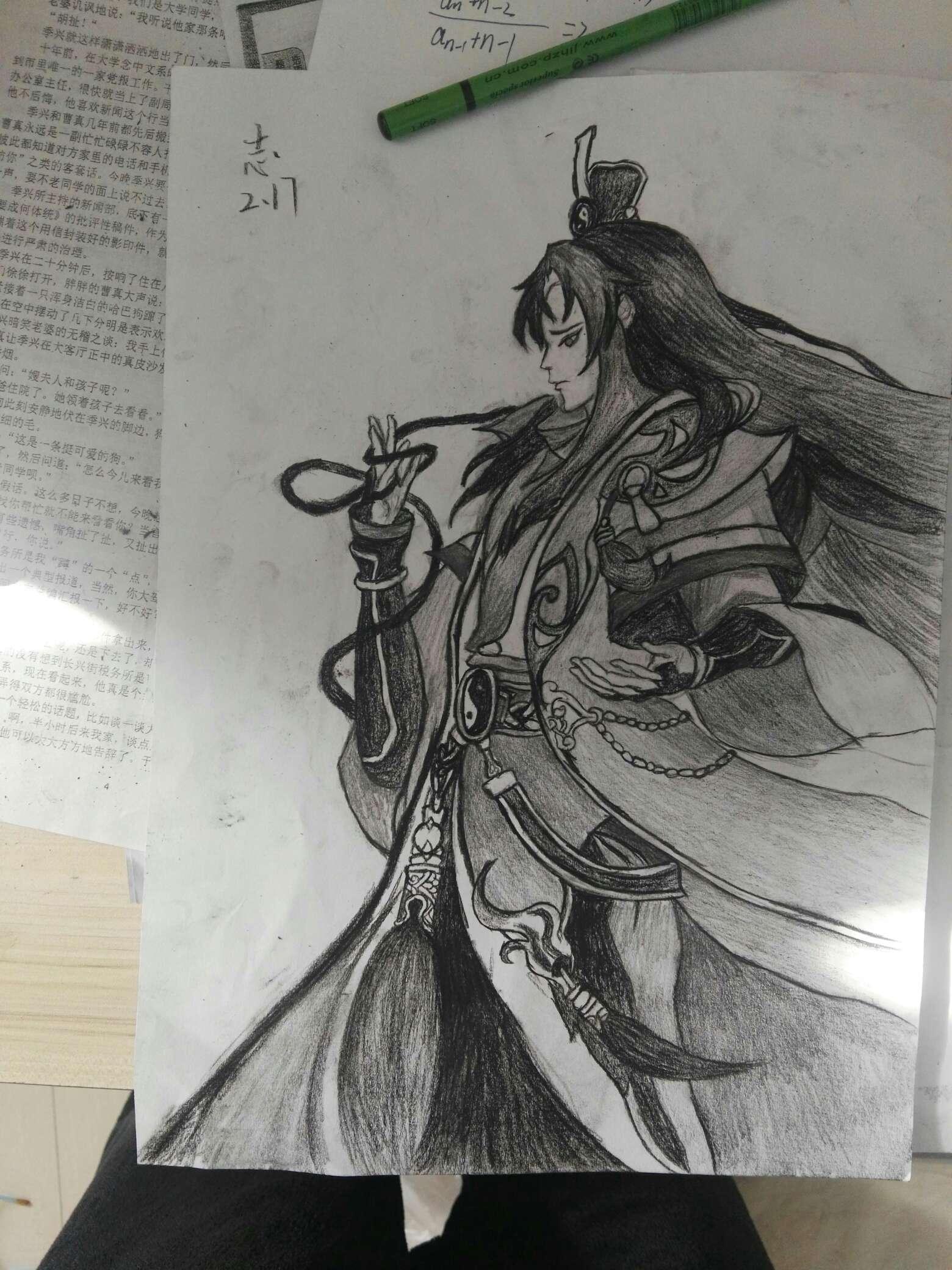 【手绘】手绘道门兵人,王者荣耀女英雄做羞羞的视频