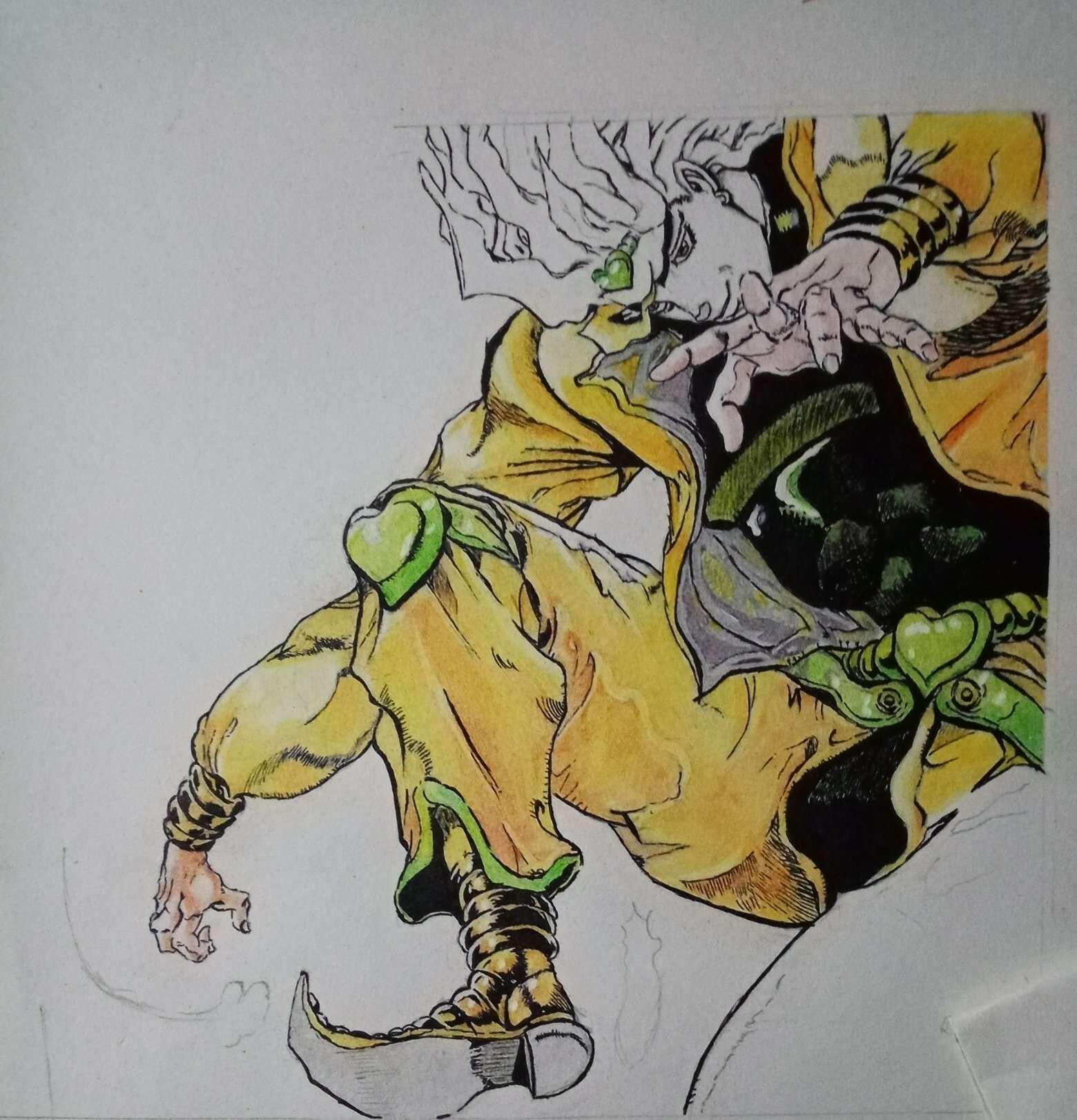 【手绘】【直播】迪奥布兰度直播,二次元邪恶帝少女漫画-小柚妹站