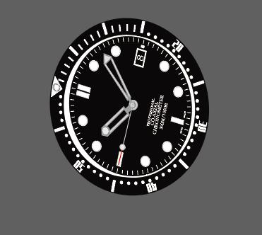 【板绘】illustrator绘制手表-小柚妹站
