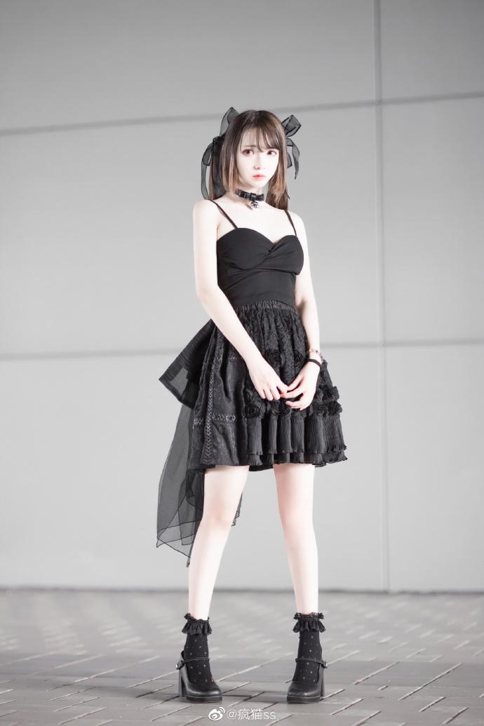 【cos】黑色系cosplay