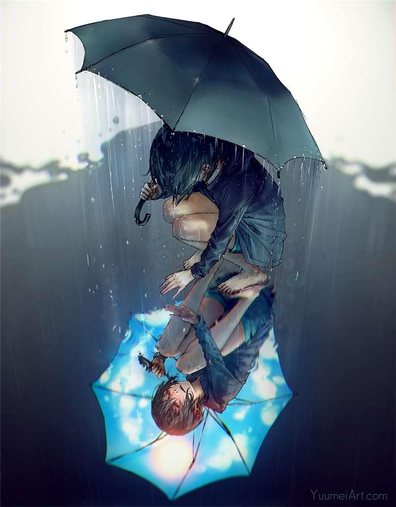 【图片】雨与伞*,好玩的二次元格斗手游-小柚妹站