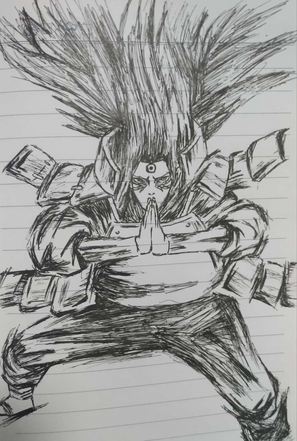 【手绘】火影忍者简笔画