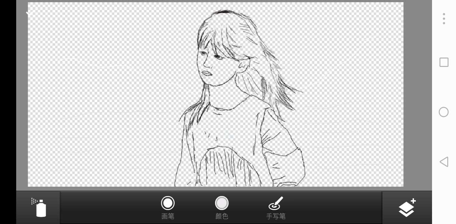 【绘画】板绘,小姑娘