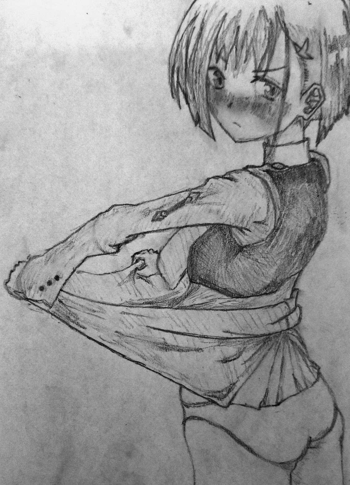【手绘】朋友让我画02