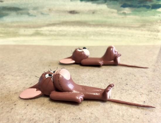 【资讯】网友用手办还原《猫和老鼠》名场面 杰瑞表演肚皮舞-小柚妹站