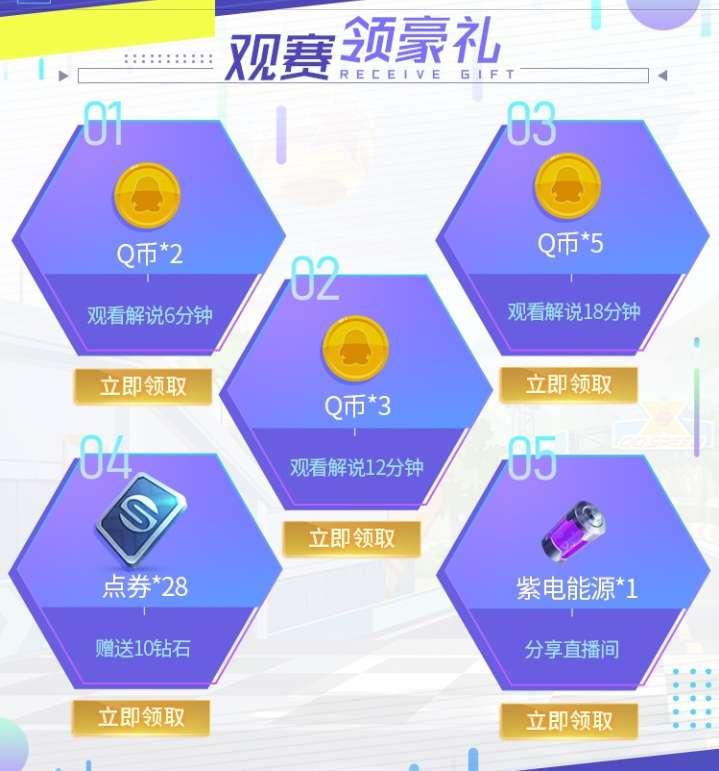 线报-「虚拟物品」企鹅电竞看QQ飞车手游直播领10Q币