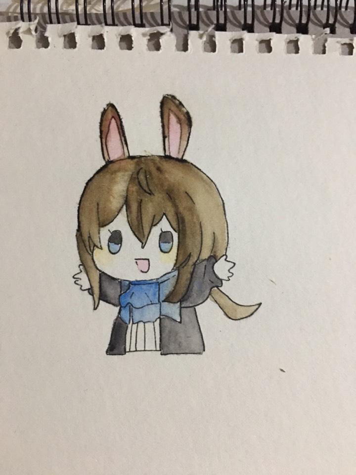 【手绘】阿米驴(非任务),二次元美女图片邪恶