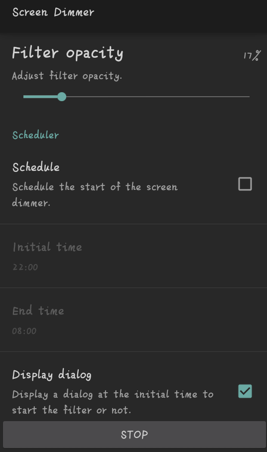 【分享】屏幕调光v2.3.3a 新颖功能自动关闭-爱小助