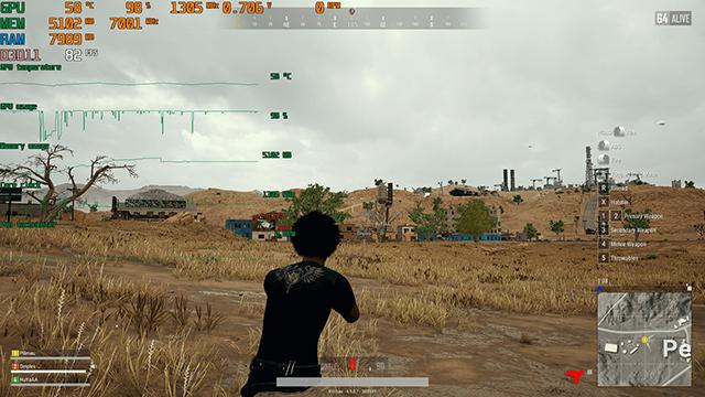 如何在游戏中实时显示FPS帧数和CPU及其他信息