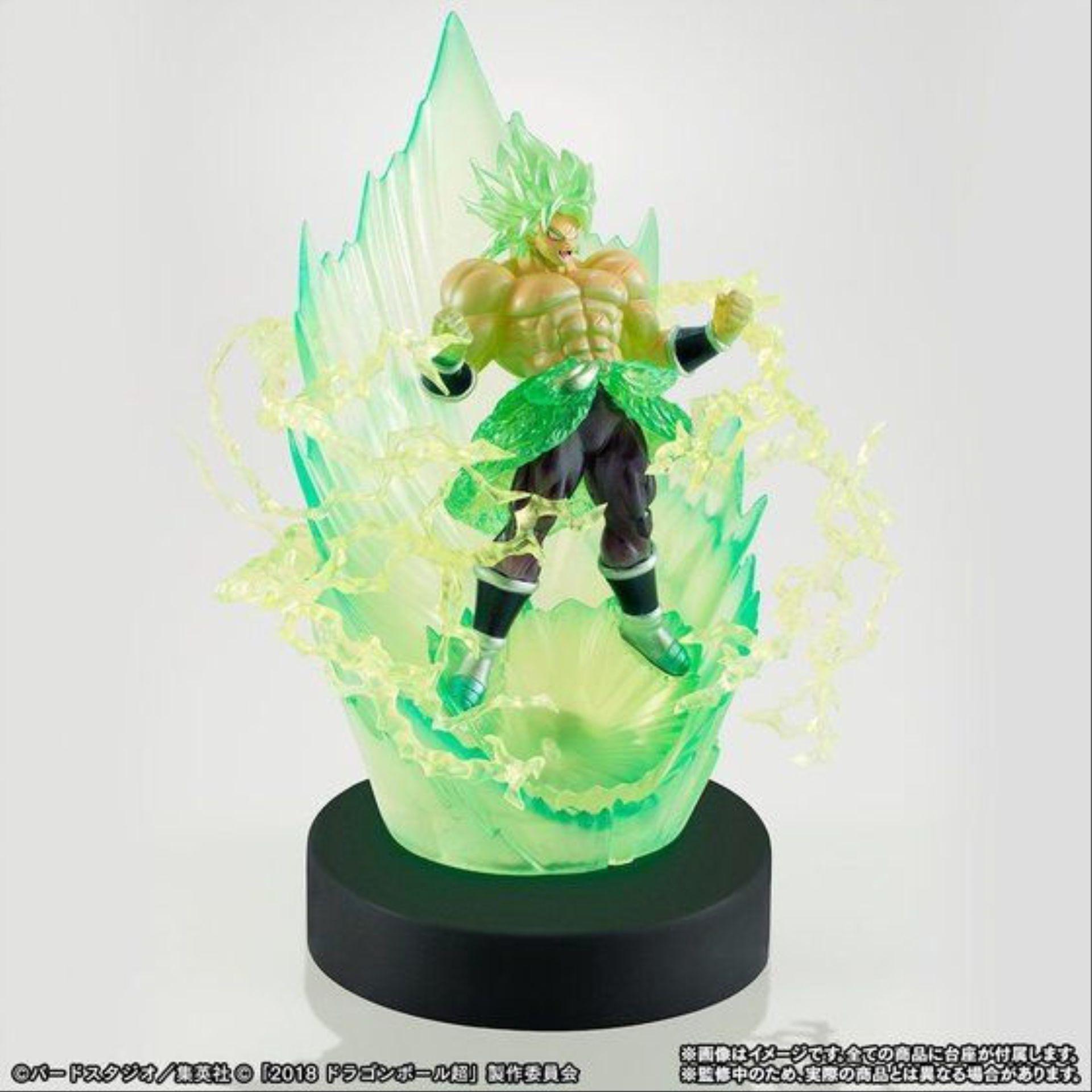 【资讯】《龙珠超:布罗利》反派角色手办组合 布罗利爆发绿气环绕